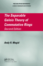 The Separable Galois Theory of Commutative Rings