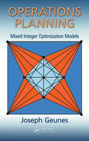 Operations Planning: Mixed Integer Opt Mods