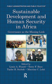 Sustainable Development and Human Security in Africa: Governance as the Missing Link