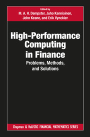High-Performance Computing in Finance: Problems, Methods, and Solutions