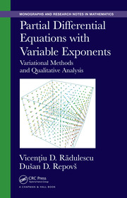 Featured Title - Partial Differential Equations with Variable Exponents - 1st Edition book cover
