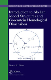 Introduction to Abelian Model Structures and Gorenstein Homological Dimensions