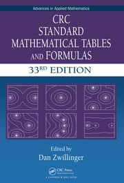 CRC Standard Mathematical Tables and Formulas