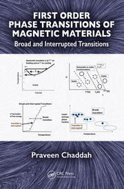 First Order Phase Transitions of Magnetic Materials: Broad and Interrupted Transitions