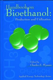 Handbook on Bioethanol: Production and Utilization