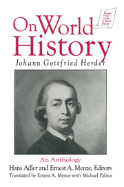 Further Reflections on the Philosophy of the History of Humankind