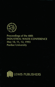 Proceedings of the 48th Industrial Waste Conference Purdue University, May 1993