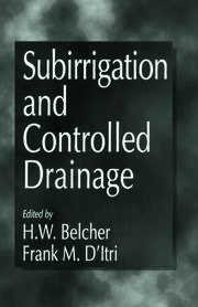 Subirrigation and Controlled Drainage
