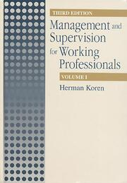 Management Supervision for Working Profiles, Third Edition, Two Volume Set