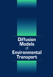 Diffusion Models of Environmental Transport