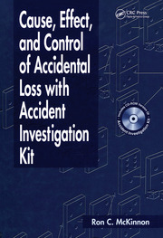 Featured Title - Cause Effect & Control of Accidental Loss W/Accident - 1st Edition book cover