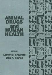 Animal Drugs and Human Health