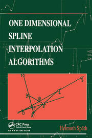 One Dimensional Spline Interpolation Algorithms