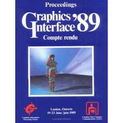 Graphics Interface 1989