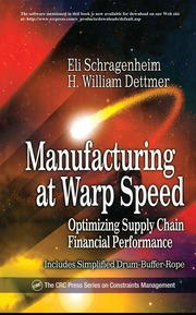 Manufacturing at Warp Speed: Optimizing Supply Chain Financial Performance