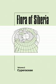 Flora of Siberia, Vol. 3: Cyperaceae