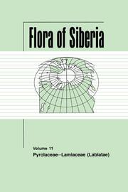 Flora of Siberia, Vol. 11: Pyrolaceae-Lamiaceae