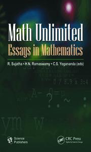 math unlimited essays in mathematics crc press book