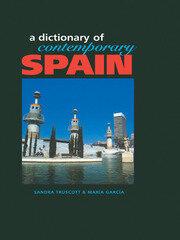 Dictionary of Contemporary Spain
