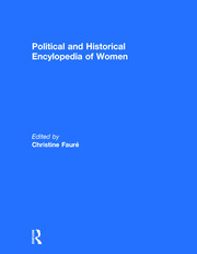 Political and Historical Encyclopedia of Women