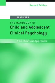 HBK CHILD & ADOLES CLIN PSY, 2nd edn - 1st Edition book cover