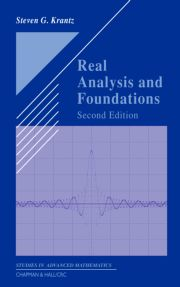 Real Analysis & Foundations 2nd Ed - 1st Edition book cover