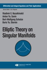 Elliptic Theory on Singular Manifolds - 1st Edition book cover