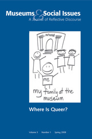 Where is Queer?: Museums & Social Issues 3:1 Thematic Issue