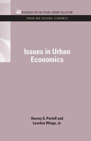 Issues in Urban Economics