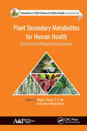 Plant Secondary Metabolites for Human Health: Extraction of Bioactive Compounds