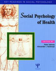 Social Psychology of Health: Key Readings