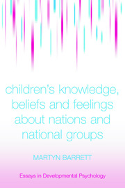 Children's Knowledge, Beliefs and Feelings about Nations - 1st Edition book cover
