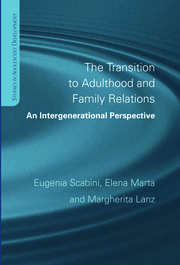 The Transition to Adulthood and Family Relations: An Intergenerational Approach