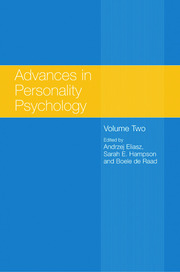 Advances in Personality Psychology: Volume II