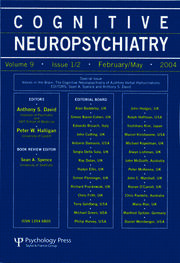 Voices in the Brain: The Cognitive Neuropsychiatry of Auditory Verbal Hallucinations: A Special Issue of Cognitive Neuropsychiatry