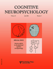 Selective Deficits in Developmental Cognitive Neuropsychology: A Special Issue of Cognitive Neuropsychology