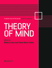 Theory of Mind: A Special Issue of Social Neuroscience