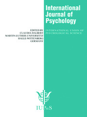 Behavior Analysis Around the World: A Special Issue of the International Journal of Psychology