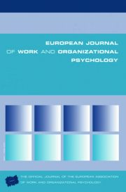 Psychological and Organizational Climate Research: Contrasting Perspectives and Research Traditions: A Special Issue of the European Journal of Work and Organizational Psychology