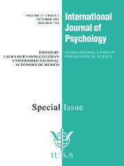 Prospective Memory: The Delayed Realization of Intentions: A Special Issue of the International Journal of Psychology