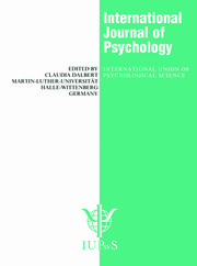 International Practices in the Teaching of Psychology: A Special Issue of the International Journal of Psychology
