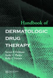 Handbook of Dermatologic Drug Therapy - 1st Edition book cover