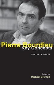 Pierre Bourdieu: Key Concepts