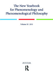 The New Yearbook for Phenomenology and Phenomenological Philosophy: Volume 11