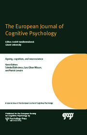 Ageing, Cognition, and Neuroscience: A Special Issue of the European Journal of Cognitive Psychology