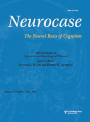 Emotions in Neurological Disease: A Special Issue of Neurocase