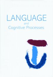 Processing the Chinese Language: A Special Issue of Language and Cognitive Processes