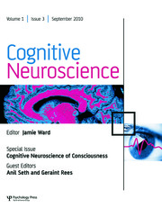 Cognitive Neuroscience of Consciousness: A Special Issue of Cognitive Neuroscience