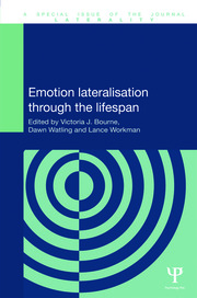 Emotion Lateralisation Through the Lifespan