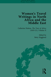 Women's Travel Writings in North Africa and the Middle East, Part II